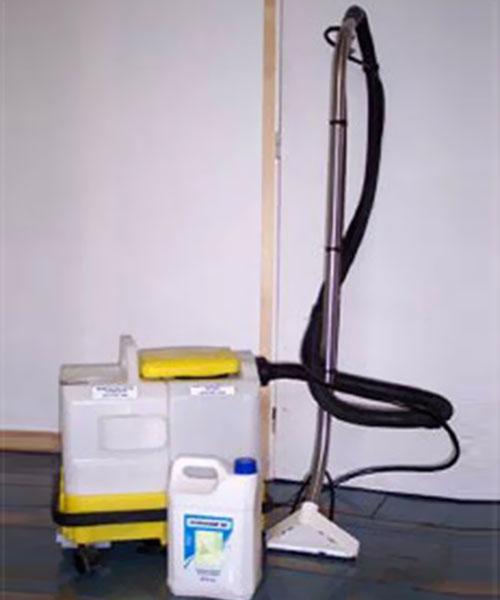 Injection-Extraction pour moquettes